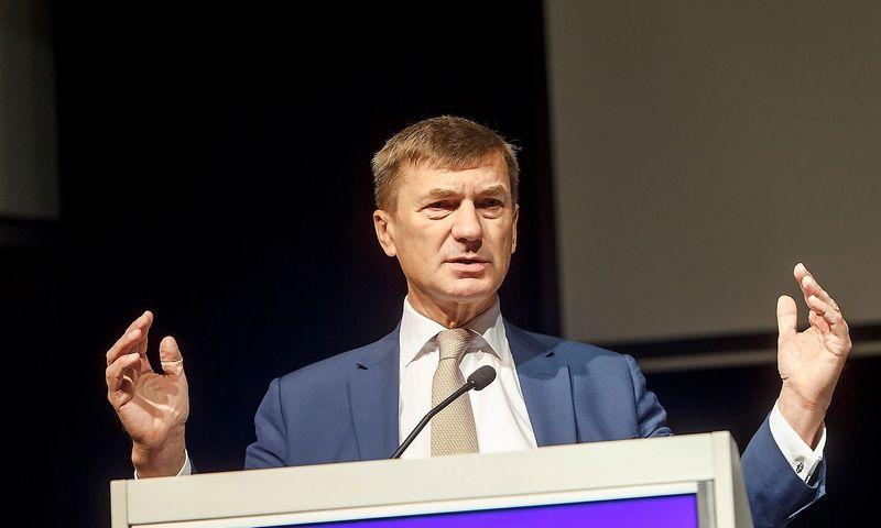 Andrusas Ansipas, už bendrąją skaitmeninę rinką atsakingas Europos Komisijos (EK) viceprezidentas. Vladimiro Ivanovo (VŽ) nuotr.