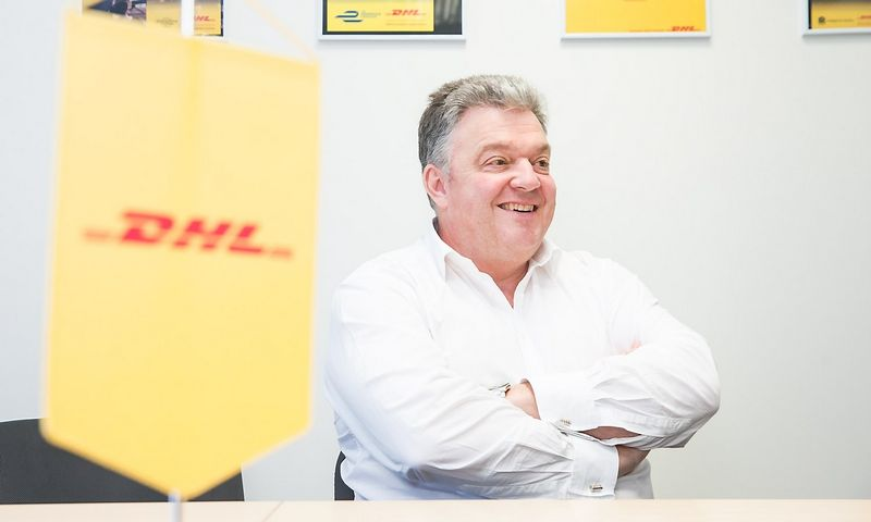 "Johnas Pearsonas, ""DHL Express"" vadovas Europos regione."