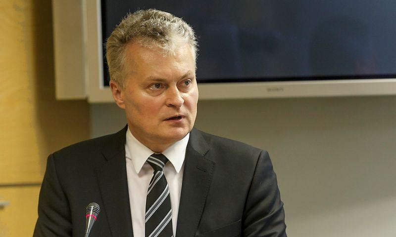 Gitanas Nausėda, SEB banko prezidentas. Vladimiro Ivanovo (VŽ) nuotr.