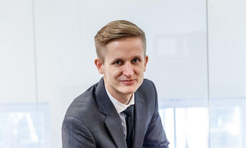 """Paulius Martinkus, asociacijos """"Baltic Institute of Corporate Governance"""" prezidentas. Vladimiro Ivanovo (VŽ) nuotr."""