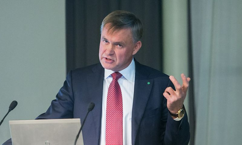 Robertas Dargis, LPK prezidentas. Juditos Grigelytės (VŽ) nuotr.