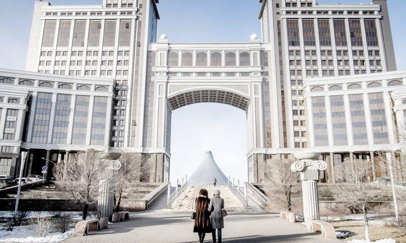 "Astana, Kazachstano sostinė. Magnuso Hjalmarsono Neidemano (TT / ""Scanpix"") nuotr."