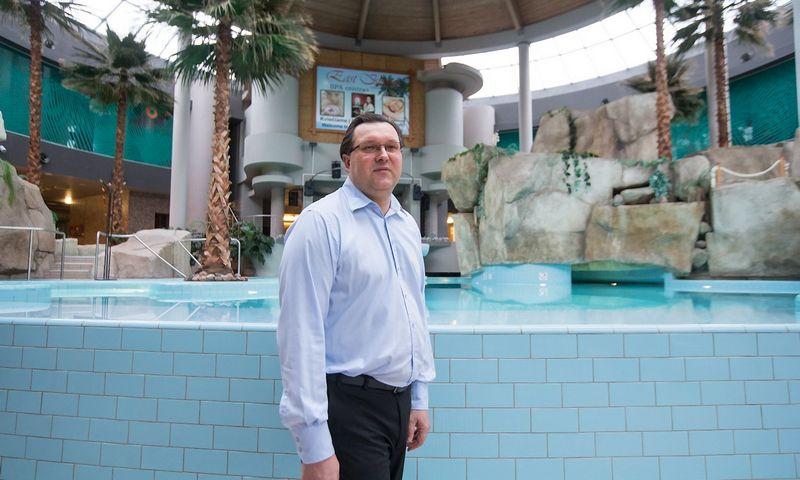 """Edmundas Antanaitis, UAB """"Druskininkų sveikatinimo ir poilsio centras AQUA"""" direktorius. Juditos Grigelytės (VŽ) nuotr."""