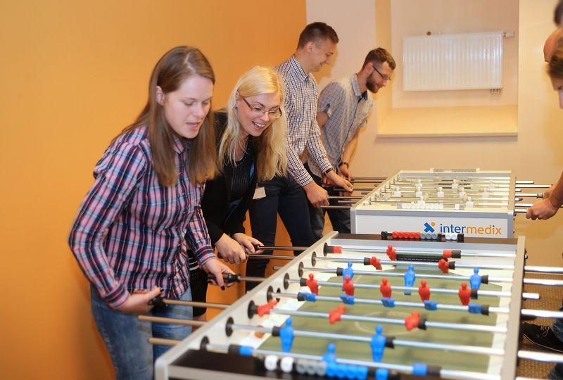"""""""Intermedix"""" Kauno paslaugų centre iki metų pabaigos dirbs apie 600, o kitąmet – iš viso apie 750 darbuotojų. Algimanto Barzdžiaus nuotr."""