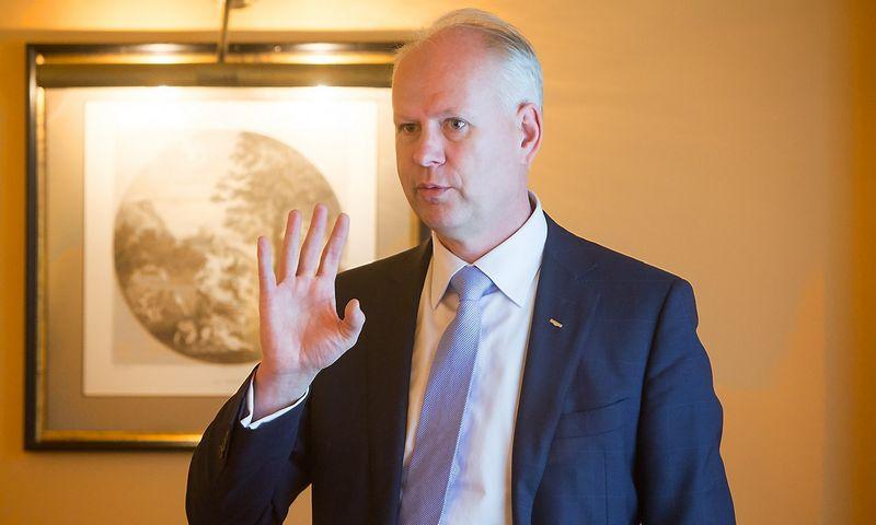 """Rolandas Viršilas, """"Švyturio-Utenos alaus"""" (ŠUA) generalinis direktorius. Juditos Grigelytės (VŽ) nuotr."""