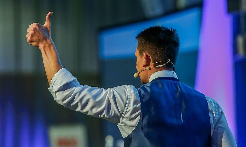 """Bo Bejstrupas Christensenas, """"Danske Capital"""" vyr.analitikas ir Makro bei taktinės aktyvų alokacijos padalinio vadovas. Vladimiro Ivanovo (VŽ) nuotr."""