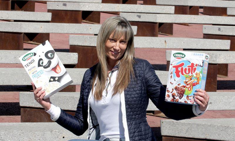 """Jūratė  Jokubauskienė, sausų pusryčių UAB """"Cerera foods"""" direktorė.  Algimanto Barzdžiaus (VŽ) nuotr."""