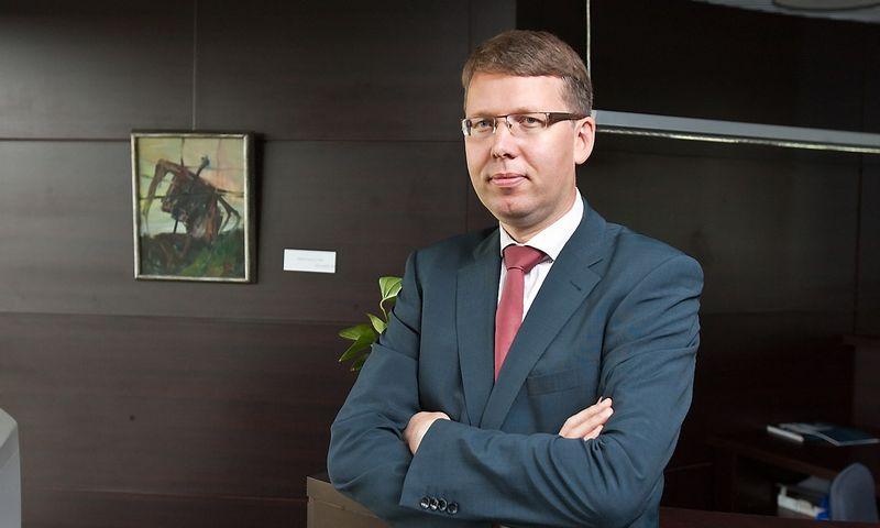 Aidas Ignatavičius, AB LESTO generalinis direktorius ir Valdybos pirmininkas. Juditos Grigelytės nuotr.