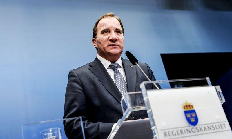 Sweden's Prime Minister Stefan Lofven. (REUTERS/Pontus Lundahl/TT News Agency)