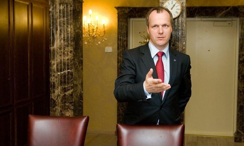 """Marius Jundulas, """"Gjensidige Baltic"""" vadovas. Vladimiro  Ivanovo (VŽ) nuotr."""