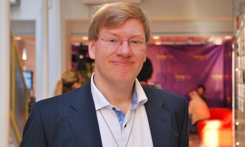 """Andersas Sandbergas, """"Oxfordo"""" universiteto Žmonijos ateities instituto mokslinis bendradarbis. Dariaus Versecko nuotr."""