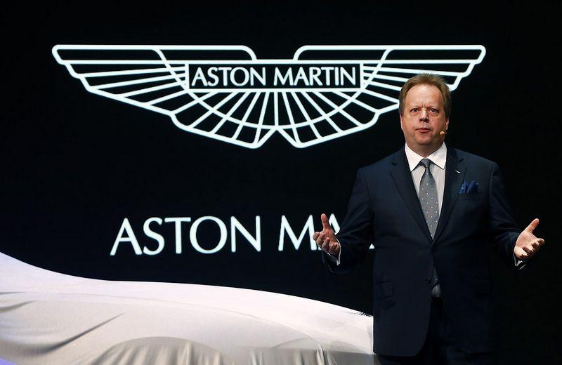 """Andy Palmeris, """"Aston Martin"""" vadovas, tikina, kad darbuotojų atleidimai neišvengiami – automobilių gamintojas išleidžia daugiau nei uždirba. Arndo Wiegmanno (""""Reuters"""" / """"Scanpix"""") nuotr."""