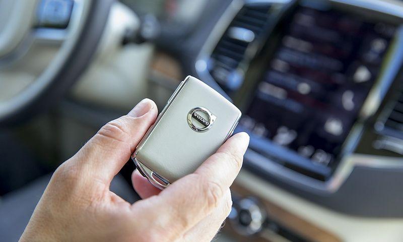 """""""Volvo"""" kalba apie daugiau hibridų ir elektromobilį. Vladmiro Ivanovo (VŽ) nuotr."""