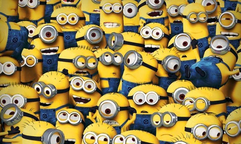Patys geriausi animaciniai personažai žmonijos istorijoje. Taškas.  facebook.com/minions nuotr.