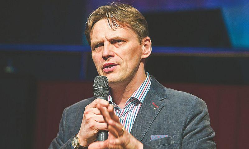 """Mindaugas Glodas, rizikos kapitalo fondo """"Nextury Ventures"""" vienas iš įkūrėjų. Juditos Grigelytės (VŽ) nuotr."""