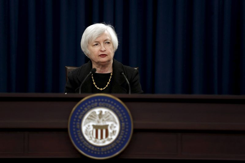 "Janet Yellen, FED vadovė. Jonathano Ernso (""Ruters"") nuotr."