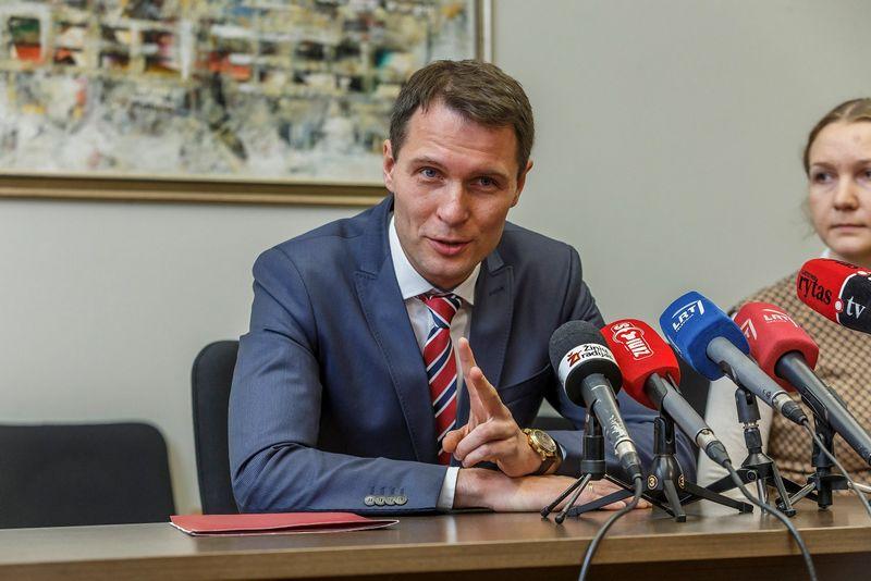 Elvinas Jankevičius, vidaus reikalų viceministras.. Vladimiro Ivanovo (VŽ) nuotr.