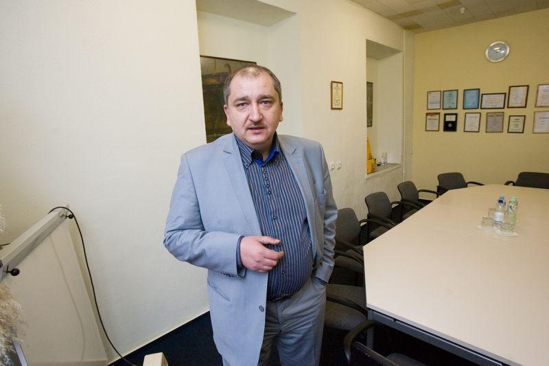 """Valdemaras Jacikas, AB """"Grąžtai"""" generalinis direktorius: """"Galbūt pigiau būtų buvę viską pradėti nuo nulio.""""  VLADIMIRO IVANOVO (VŽ) NUOTR."""