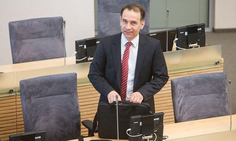 Rokas Masiulis, Lietuvos Respublikos energetikos ministras. Juditos Grigelytės (VŽ) nuotr.