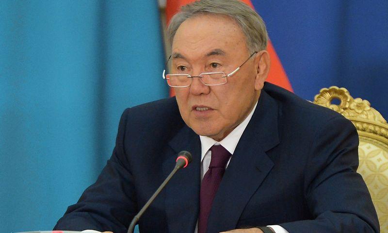 """Nursultanas Nazarbajevas, Kazachstano prezidentas, perspėjo tautiečius, kad į šalį atslenka sunkmetis. Aleksejaus Nikolskio (""""RIA Novosti"""" / """"Scanpix"""") nuotr."""