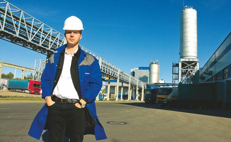"""Paulius Ambrazaitis, UAB """"Neo Group"""" generalinis direktorius, sako, kad, jei viskas vyks pagal planą, nauja gamykla pradės veikti 2017 m. pabaigoje – 2018 m. pradžioje. ALGIMANTO KALVAIČIO NUOTR."""