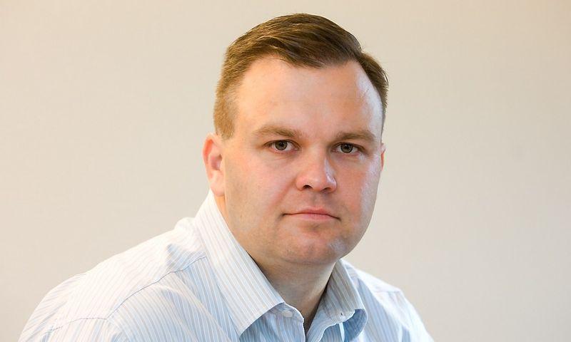"""Giedrius Oliškevičius, """"Sorbum Group"""" generalinis direktorius. Vladimiro Ivanovo (VŽ) nuotr."""