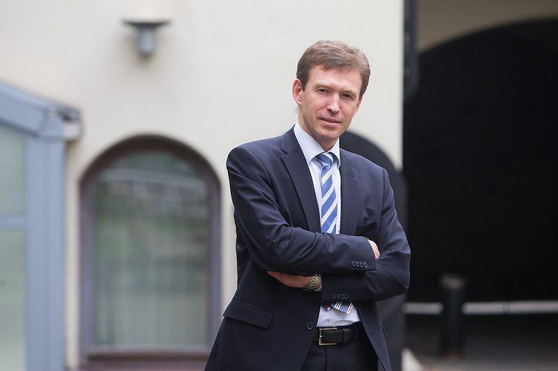 """Kęstutis Lisauskas, konsultacijų bendrovės EY Mokesčių paslaugų verslui vadovas Vidurio ir Pietryčių Europoje, partneris, """"Investors' Forum"""" Mokesčių grupės vadovas. Juditos Grigelytės (VŽ) nuotr."""