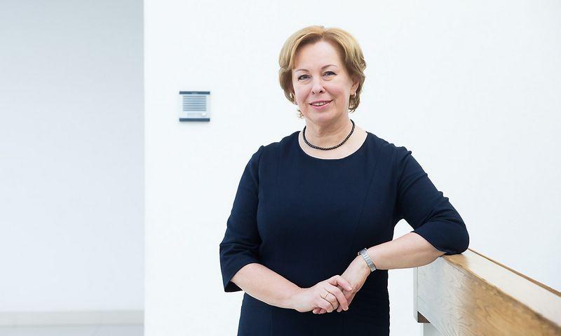 """Dalia Foigt-Norvaišienė, advokatų kontoros """"Cobalt"""" teisės patarėja. Juditos Grigelytės (VŽ) nuotr."""