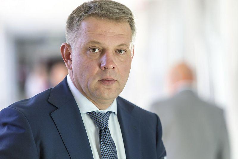 Eligijus Masiulis, Lietuvos Respublikos liberalų sąjūdžio pirmininkas. Vladimiro Ivanovo (VŽ) nuotr.