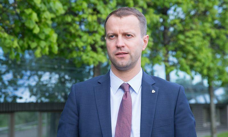 """Dalius Misiūnas, UAB """"Lietuvos energija"""" valdybos pirmininkas ir generalinis direktorius. Juditos Grigelytės (VŽ) nuotr."""