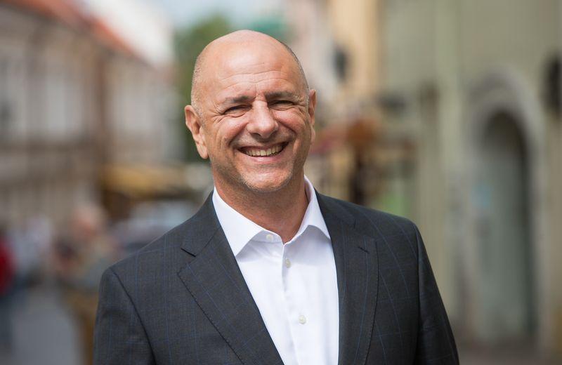 Fredas Hrenchukas. Juditos Grigelytės (VŽ) nuotr.