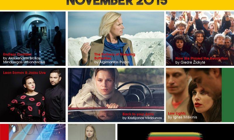 """""""Eurochannel"""" parengtas maketas lietuviškų filmų ir koncertų programai. LKC nuotr."""
