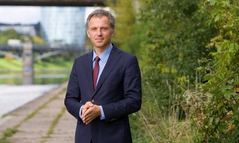 """Dalius Serafinas, UAB """"Kvalitetas"""" verslo plėtros direktorius. Juditos Grigelytės (VŽ) nuotr."""