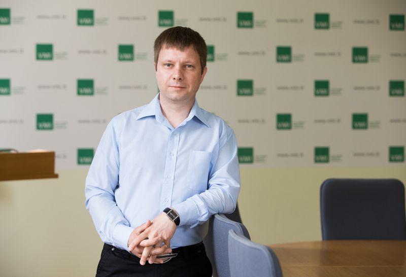 Darius Buta, VMI komunikacijos vadovas. Juditos Grigelytės (VŽ) nuotr.