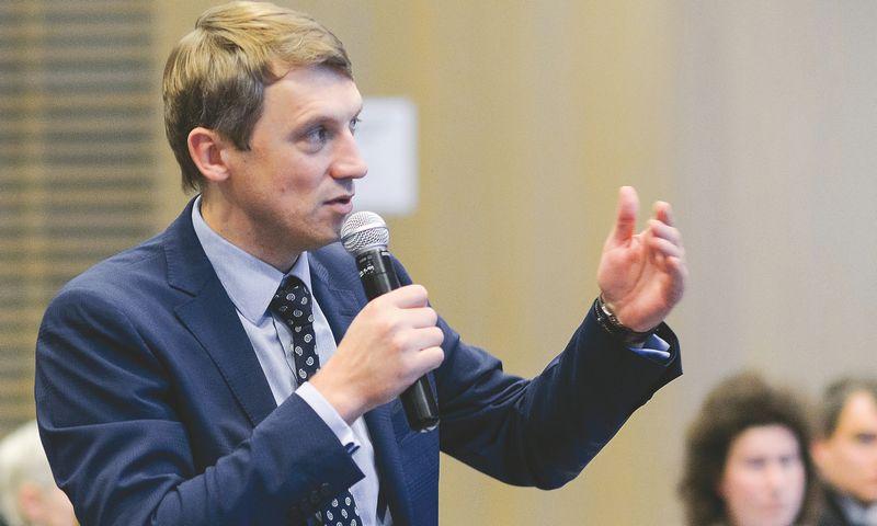 """Laimonas Skibarka, """"Sorainen"""" vadovaujantysis partneris: """"2015 m. verslo advokatų pajamos gali didėti apie 5–10%."""" Aušros Barysienės nuotr."""