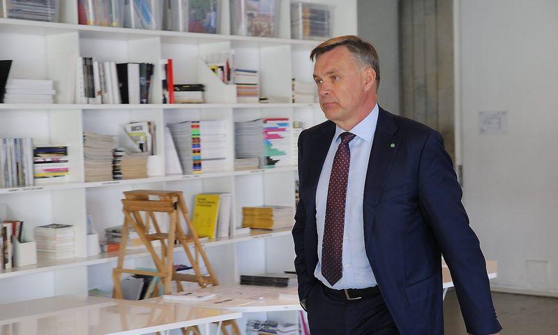 Robertas Dargis, Lietuvos pramonininkų konfederacijos (LPK) prezidentas. Vladimiro Ivanovo (VŽ) nuotr.