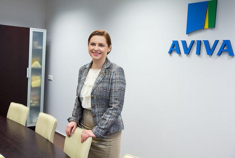 """Asta Grabinskė, gyvybės draudimo ir pensijų UAB """"Aviva Lietuva"""" generalinė direktorė. Juditos Grigelytės (VŽ) nuotr."""