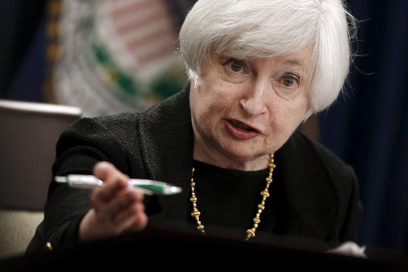 "Janet Yellen, FED vadovė. Jonathano Ernsto (""Reuters"") nuotr."