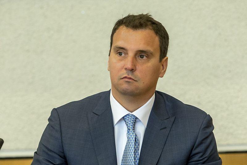 Aivaras Abromavičius, Ukrainos ekonomikos ministras. Vladimiro Ivanovo (VŽ) nuotr.