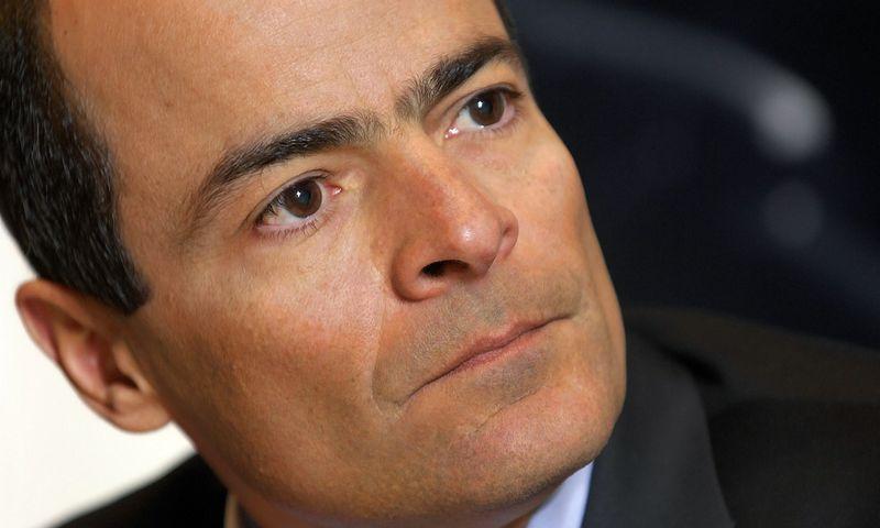 """Brazilas Carlosas Brito, """"InBev"""" vykdomasis vadovas, – pagrindinis daugelio bendrovės inicijuotų įspūdingų sandorių architektas. JOCKO FISTICKO (""""REPORTERS"""" / """"SCANPIX"""") NUOTR."""