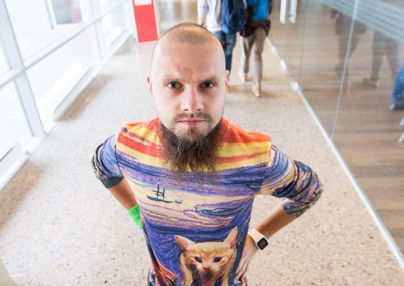 """Olegas Pridiukas, žaidimų UAB """"Game Insight"""" evangelistas. Juditos Grigelytės (VŽ) nuotr."""