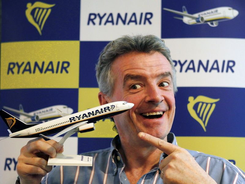 Ryanair Chief Executive Michael O'Leary. Reuters /Albert Gea