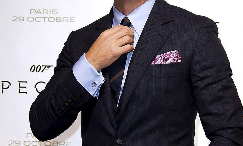 """Aktorius Danielis Craigas naujojo bondiados filmo """"Spectre"""" premjeroje Paryžiuje. Benoit Tessier (REUTERS) nuotr."""
