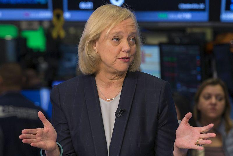"Meg Whitman, naujosios ""Hewlett Packard Entreprise"" generalinė direktorė ir prezidentė. ""Reuters"" / ""Scanpix"" nuotr."
