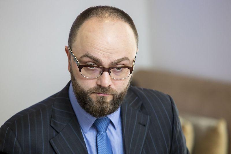 Liutauras Valickas, Lietuvos smulkiųjų vartojimo kreditų asociacijos valdybos pirmininkas. Vladimiro Ivanovo (VŽ) nuotr.
