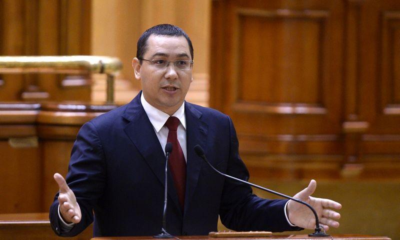 "Victoras Ponta, Rumunijos ministras pirmininkas. (""Reuters"" / ""Scanpix"") nuotr."