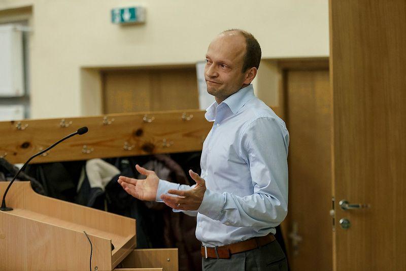 """Nerijus Mačiulis, """"Swedbank"""" vyriausiasis ekonomistas. Vladimiro Ivanovo (VŽ) nuotr."""