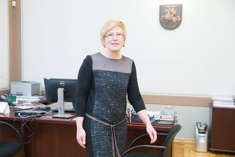 Ingrida Šimonytė. Juditos Grigelytės (VŽ) nuotr.