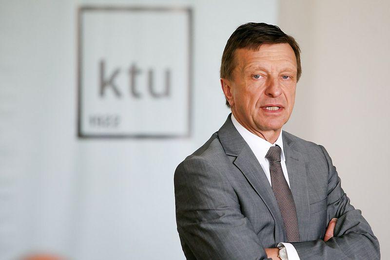 """Petras Baršauskas, KTU rektorius. """"15min.lt"""" / """"Scanpix"""" nuotr."""