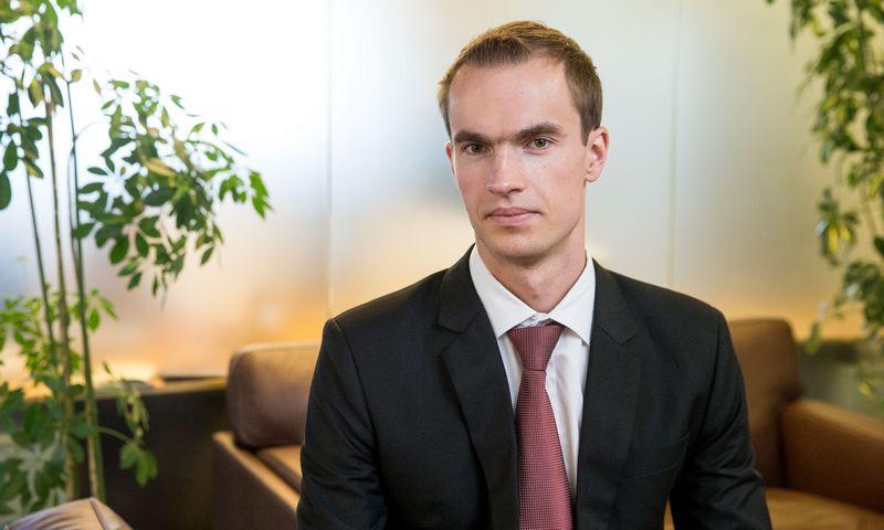 """Donatas Šetikas, """"Orion Securities"""" finansų makleris. Juditos Grigelytės (VŽ) nuotr."""